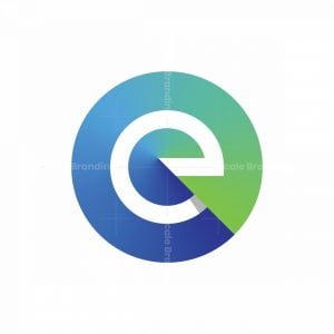 Vibrant Letter E Logo