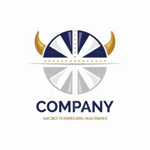 Viking Constructions Symbol Logo
