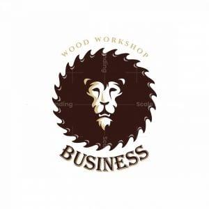 Wild Sawmill Symbol Logo