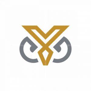 Y Owl Head Logo