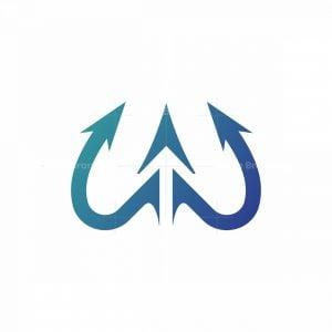 Trident W Logo