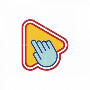 Pointer Arrow Media Playback Logo