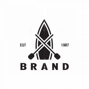 Vintage Rowboat Logo
