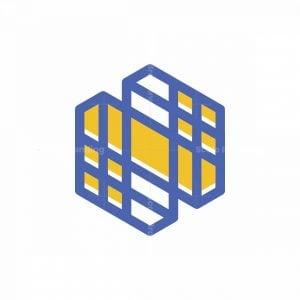 Building Architect Letter N Logo