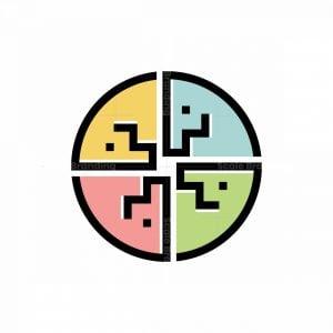 Quadrant Horse P Logo