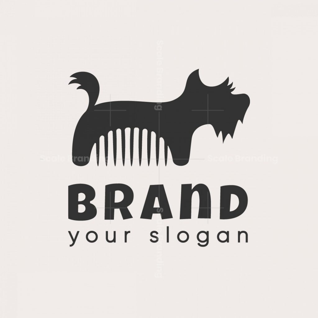 Groom Dog Logo
