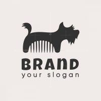 Groom Dog Logo