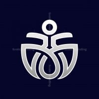 Meditation Human Logo