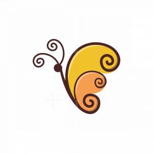 Ornamental Butterfly Logo