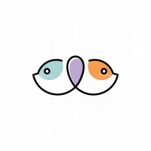 Double Cat Head Logo