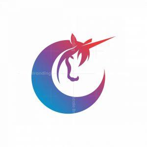 Moon Unicorn Logo