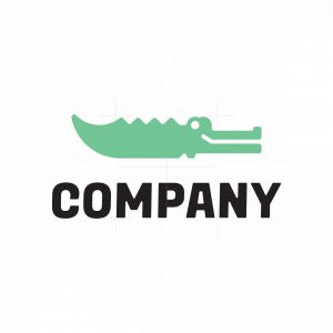 Crocodile Knife Logo