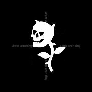 Skull Rose Logo