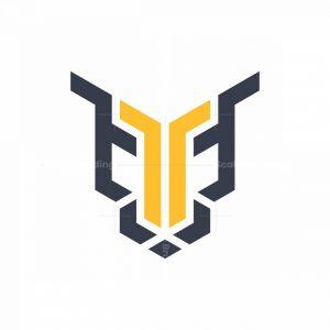 Tiger Letter T Logo