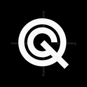 Letter Qg Gq Logo