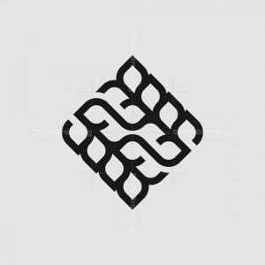 22 Wheat Monogram Logo