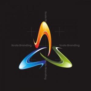 3d Triangle Logo