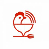 Chicken Food Logo