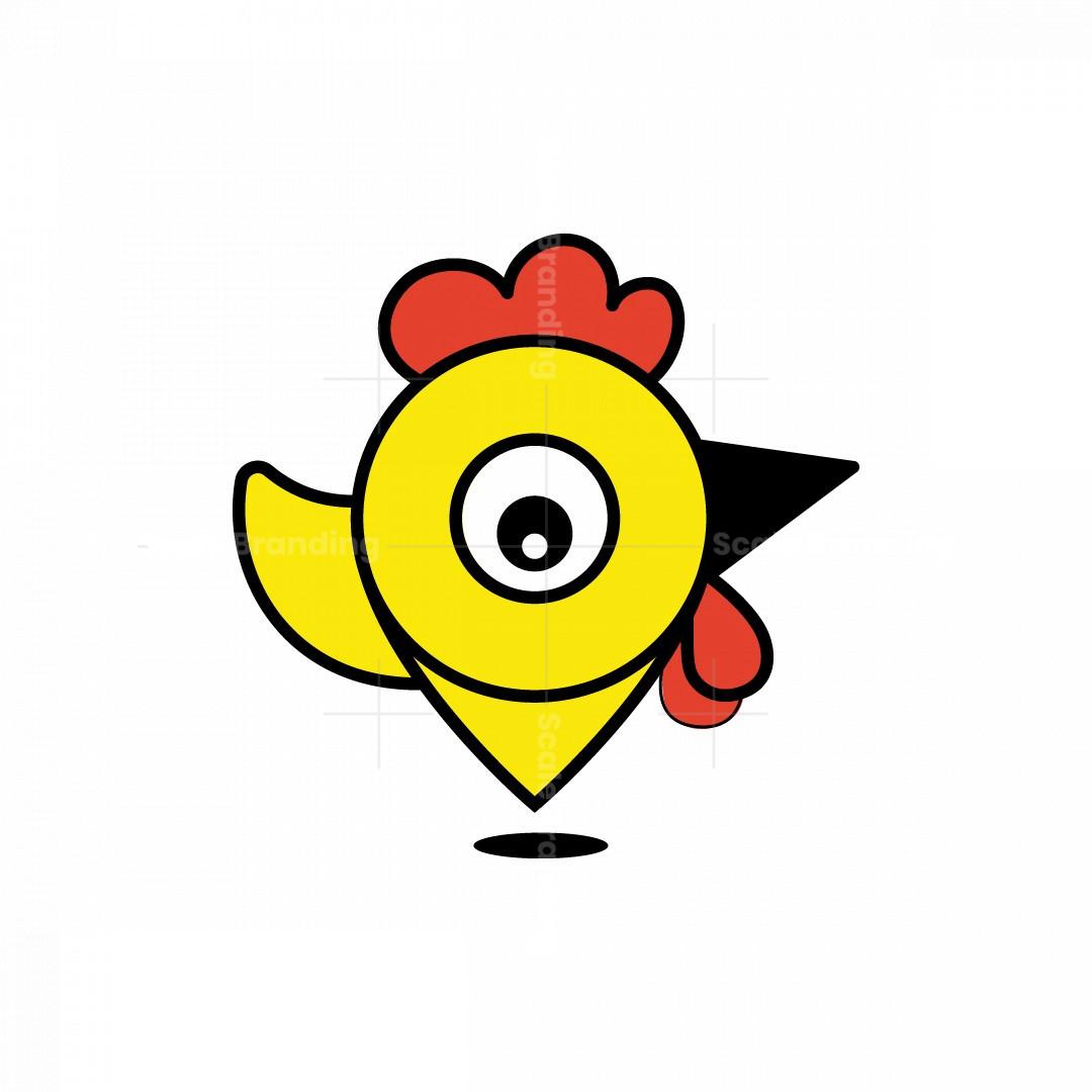 Chicken Location Logo
