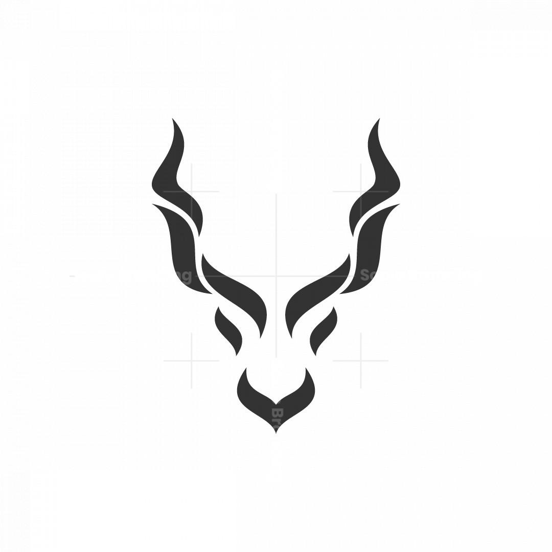 Kudu Head Logo