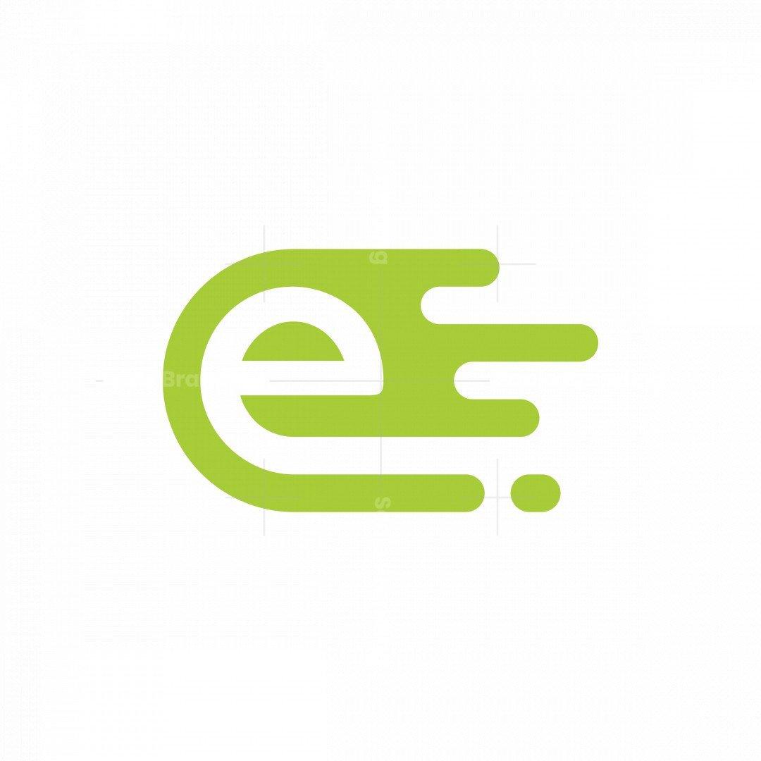 Fire Letter E Logo