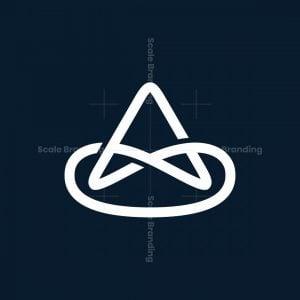 A Letter Loop Logo