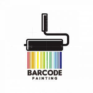 Barcode Painting Logo