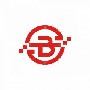 B Letter Digital Logo