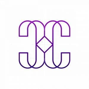 Cc Modern Monogram Logo