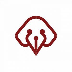 Creative Cute Dog Logo