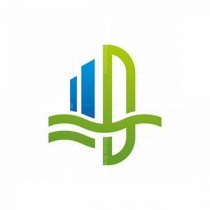 D Building Logo