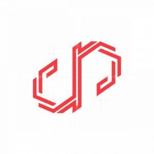 Dp Elegant Monogram Logo