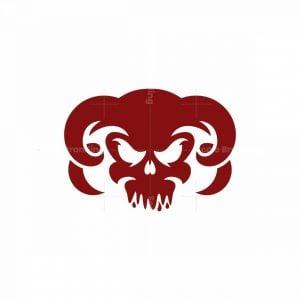 Demon Skull Logo