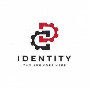 Draft Infinity D Letter Logo