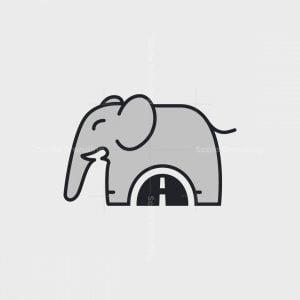 Elephant Tunnel A Logo