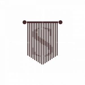 Empire Flag Letter S Logo