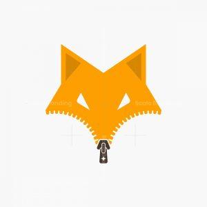 Fox Zipper Logo