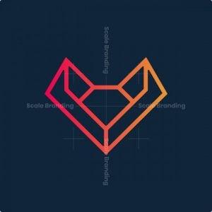 Geometry Fox Logo