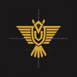 Heraldic Eagle Logo