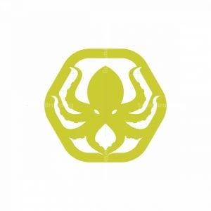 Hexagon Octopus Logo