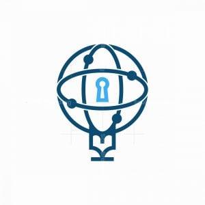 Key Of Globe Logo