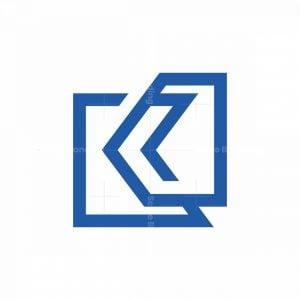 K Line Lettre Logo