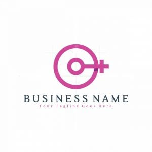 Letter C Beauty Logo