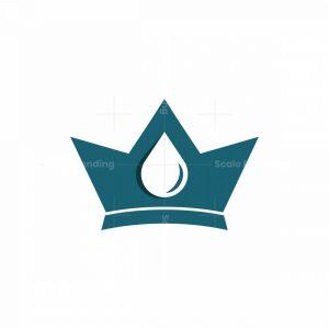 Droplets Crown Logo