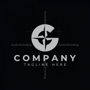 Letter G Compass Logo