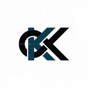 Initial Kk Logo