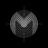Silver M W E Circle Logo