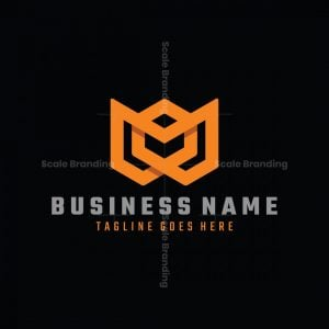 One Line M Box Logo