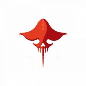 Lethal Stingray Skull Logo