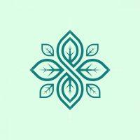 Letter S Infinite Leaf Logo